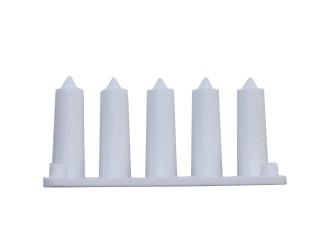 SPIKPLUGG VIT Diam 1,2-2 mm (BORR 5,5mm)