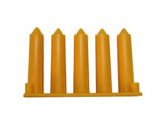 SPIKPLUGG GUL Diam 1,2-3mm (BORR 5,5mm)